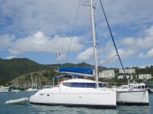 Fountaine Pajot Lavezzi 40 : At anchor in Martinique